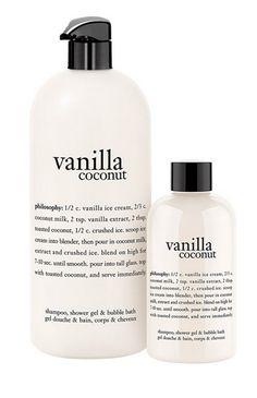 vanilla coconut shower gel - best of Nordstrom Anniversary Sale