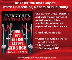 Mythical Books: Roll Out the Red Carpet Hop Giveaway