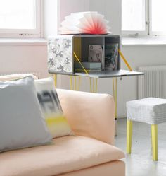 my scandinavian home: Nordic pastels and neons