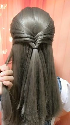 Hair style 605523112387316125 - New Demanding Hairstyle of 2020 Source by Easy Hairstyles For Long Hair, Braids For Long Hair, Braided Hairstyles, Medium Hair Braids, Amazing Hairstyles, Hair Up Styles, Medium Hair Styles, Hair Tutorials For Medium Hair, Hair Do For Medium Hair