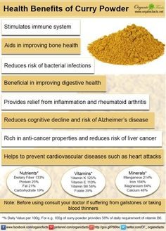 Health Benefits of Curry Powder ~ my winter love! ~
