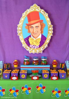 We Heart Parties: Party Information - Willy Wonka Themed 7th Birthday Party?PartyImageID=47554e50-9b0c-4a2a-ae1e-54756ed88ff2