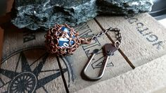D20 Keychain Chainmaille Dice Bag Dungeons And by LepidusPlasmatio