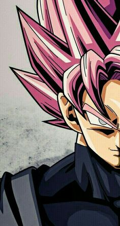 Perfect Goku Black art S uper Saiyan Rose Black Goku, Photo Dragon, Z Wallpaper, Dragon Ball Gt, Animes Wallpapers, Anime Naruto, Black Art, Chibi, Android 18
