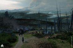 Concept art for Game of Thrones season 4 by Karakter Studios.