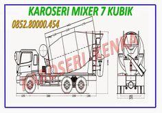 Karoseri Truck Mixer