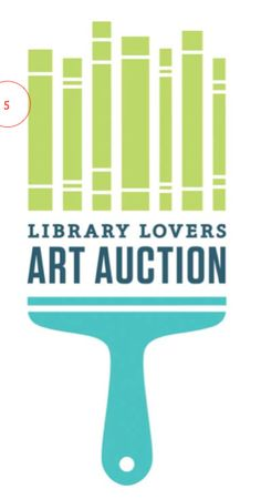 library lovers art auction
