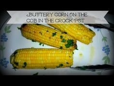 Easiest corn on the cob ever chef johns favorite method for buttery corn on the cob in the crock pot youtube ccuart Choice Image
