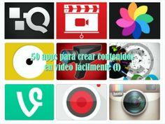 50 aplicaciones de video para crear contenidos fácilmente (I/III)
