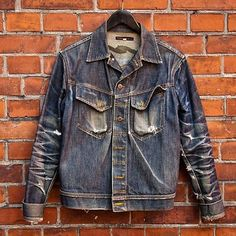 """""""The holy grail amongst the denim jackets, by nudie jeans"""" #menswear #rugged #Indigo #jeans #fashion #clothing #mode #style #Inspiration"""