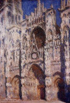 Rouen Cathedral 01 - Claude Monet