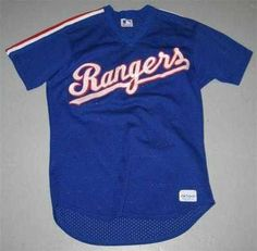 Texas Rangers Game Used Warm-up Batting Practice Jersey - Game Used MLB Jerseys by Sports Memorabilia. $381.18. TEXAS RANGERS GAME USED WARM-UP BATTING PRACTICE JERSEY