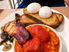 The Breakfast of Champions at Lucky Penny in South Yarra