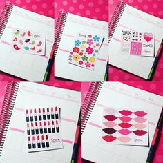 These decorative sheets will be available and will fit great in any of your planners! EC VERTICAL EC HORIZONTAL & HAPPY planner in MATTE or GLOSSY! Opening on Friday April 1st! #xoxoprints #etsyshop #etsyseller #etsystickers by xoxoprints