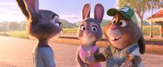 Parents are always looking out for their little bunnies. #Zootopia