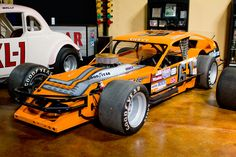 This beautiful orange small block Chevy was designed and built by Richie Evans and Billy Nacewicez in 1984. Cars built by the duo were famous for the signature orange paint scheme that was used throughout Richie Evans' racing career. Evans …