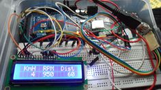 Car datta logger Using OBD II protocol (atmega 2560+ SD card + lcd 16x2)