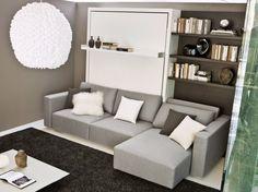cama abatible con sofa swing