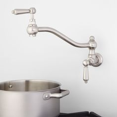 DXV BY AMERICAN STANDARD CONTEMPOARY POT FILLER The ultramodern
