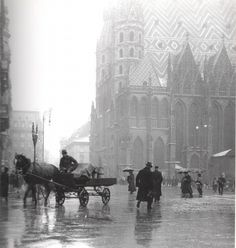 my-little-time-machine: 1913 Stephansdom, Vienna. Scenery Pictures, Old Pictures, Old Photos, Vintage Photographs, Vintage Photos, Street Photography, Nature Photography, World Cities, Vienna