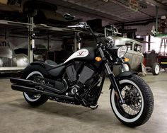 matte black motorcycle | Flat Black Victory Motorcycles High-Ball - Unfinished Man