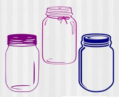 Mason Jar Svg Mason Jar Monogram Svg Svg Files For Cricut