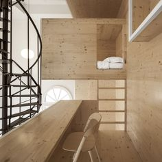 i29   Interior architects, Ewout Huibers · Room on the Roof. Amsterdam, Netherlands · Divisare