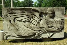 art deco relief sculpture | more Art Deco bas relief sculpture from the North America Life ...