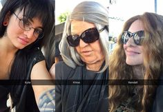 OMG! Khloe Kardashian, Kendall and Kylie Jenner Went Undercover on This Hollywood Tours Ride and It's Unbelievable! | E! Online Mobile