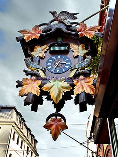 Worlds Largest Cuckoo Clock On Display In St Goar, Rhineland, Germany, Europe
