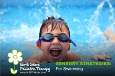 sensory strategies for swimming