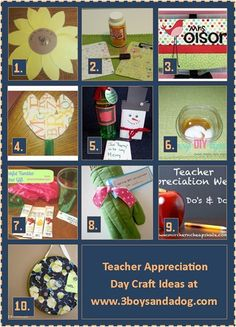 Teacher Appreciation Day Craft Ideas thumb 22 Teacher Appreciation Day Kids Activities