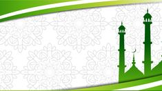 Mosque Islam Powerpoint Templates - Green, Religious - Free PPT Backgrounds and Templates Islamic Background Vector, Simple Background Images, Ramadan Background, Background Design Vector, Background Banner, Wallpaper Ramadhan, Islamic Wallpaper Hd, Certificate Design Template, Ppt Template