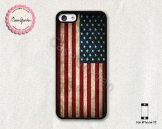 American Flag iPhone 5C Case iPhone Case iPhone Hard by CaseGarden, $7.99