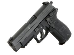Sig Saur P226 MK25. We got 'em @Thomas Haight's Outdoor Superstore I'll be honest sig saur is over glock in my books