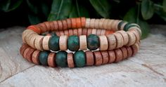 Check out this item in my Etsy shop https://www.etsy.com/listing/199809336/free-shipping-mens-wood-bead-bracelets