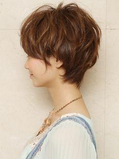短髮 Pin燙 Curly Perm Short hair