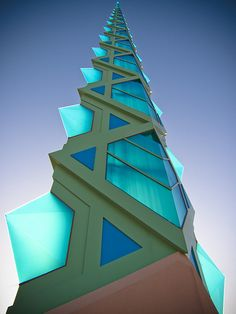 """The thing always happens that you believe in; and the belief in a thing makes it happen."" Frank Lloyd Wright (1867-1959); architect Spire, by Frank Lloyd Wright"