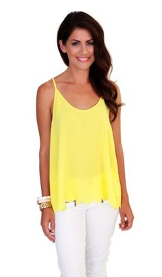 Buttercup Tank by JILLIAN HARRIS for Privilege | Privilege Clothing Boutique