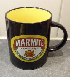MARMITE JAR COLLECTABLE COFFEE MUG CUP - Rare & Unusual   Marmite ...