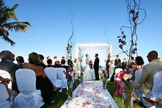 A beautiful setting for a #destinationwedding ceremony.   #ZoetryResorts Paraiso de la Bonita, Riviera Maya, Mexico