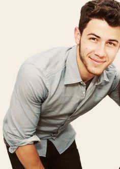 Nick Jonas.... I reluctantly admit his extreme handsomeness