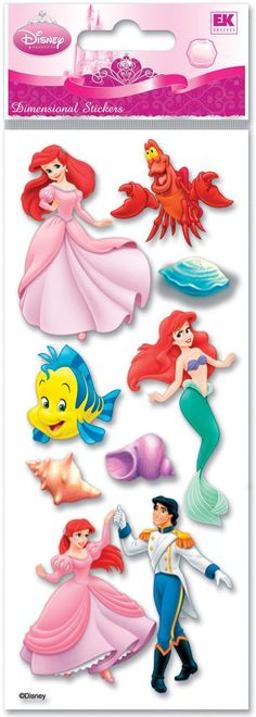 Jolee's Disney Dimensional Stickers bring texture and color to your cards, scrapbook pages and craft projects. DTODLM