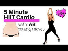(12) FAT BURNING HOME CARDIO HIIT EXERCISE - TO TONE YOUR ABS AND OBLIQUES -TABATA STYLE WORKOUT - YouTube