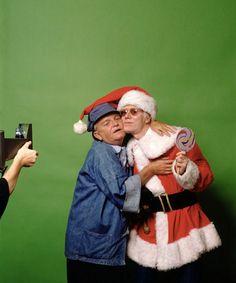 Truman Capote & Andy Warhol, NYC, 1979. © Mick Rock