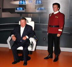 El capitán Kirk de 'Star trek' tiene una charla 'intergaláctica' con un astronauta de la EEI | 20minutos.es