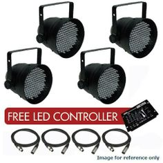 4 pcs. PAR64B-LED XLR Cable Free LED Controller by Optima. $355.59. PAR64 Black LED SpecificationThePAR 64 LED is a DMX-512 controllable, full RGB color mix par can madeup of highly efficient and double-sized bright LED's. All red, greenand blue LED's can be controlled separately allowing the creation of anunlimited range of colors.The PAR 64 LED can operate in Stand-Alone, Master/Slave and via DMX-512 control utilizing 5 DMX channels with Double-bracket yoke.FEATURESBuilt-in a...