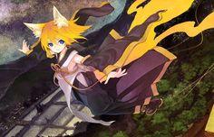 Kitsune Rin, by, not surprisingly, artist Kitsune (kazenouta).