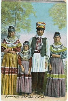 "sisterwolf: "" Billy Bowlegs III and Seminole women - Florida "" Native American Women, Native American History, Native American Indians, Native Americans, Native Indian, Seminole Patchwork, Seminole Indians, Seminole Florida, Tribal People"