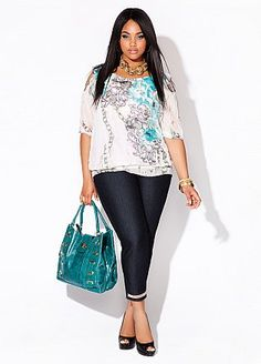 Ashley Stewart.....love the jeans